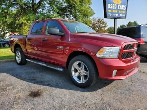 2013 RAM Ram Pickup 1500 for sale at Paramount Motors in Taylor MI