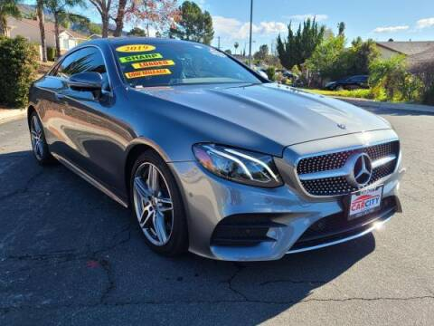 2019 Mercedes-Benz E-Class for sale at CAR CITY SALES in La Crescenta CA