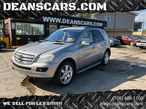 2007 Mercedes-Benz M-Class for sale at DEANSCARS.COM in Bridgeview IL