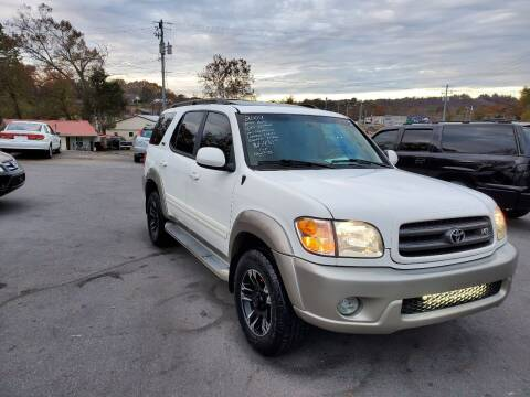 2004 Toyota Sequoia for sale at DISCOUNT AUTO SALES in Johnson City TN