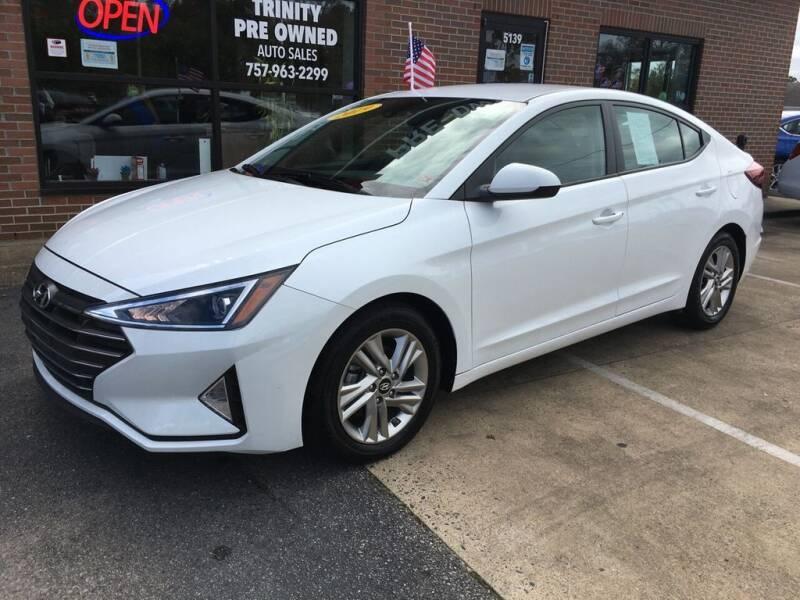 2019 Hyundai Elantra for sale at Bankruptcy Car Financing in Norfolk VA