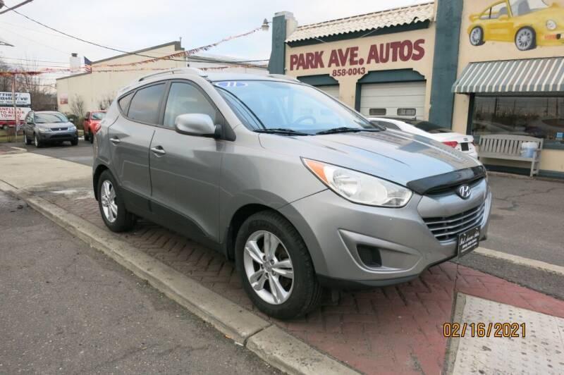 2011 Hyundai Tucson for sale at PARK AVENUE AUTOS in Collingswood NJ