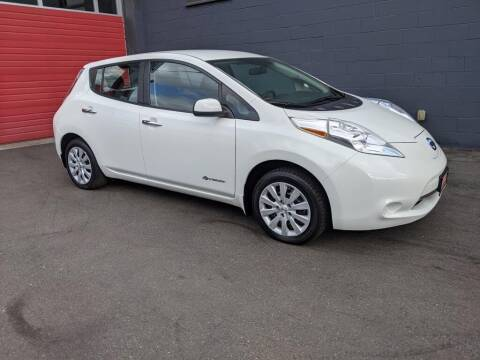2017 Nissan LEAF for sale at Paramount Motors NW in Seattle WA