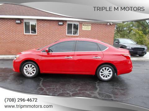 2018 Nissan Sentra for sale at Triple M Motors in Saint John IN