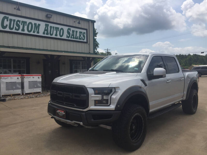 2018 Ford F-150 for sale at Custom Auto Sales - AUTOS in Longview TX