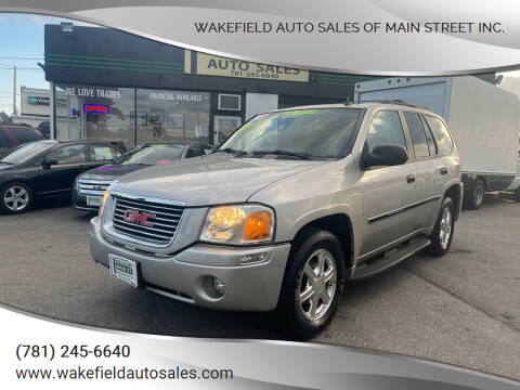 2008 GMC Envoy for sale at Wakefield Auto Sales of Main Street Inc. in Wakefield MA