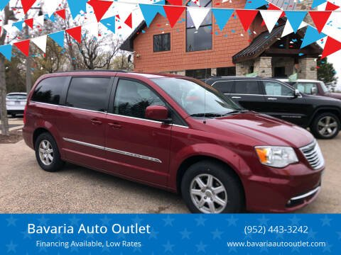 2013 Chrysler Town and Country for sale at Bavaria Auto Outlet in Victoria MN