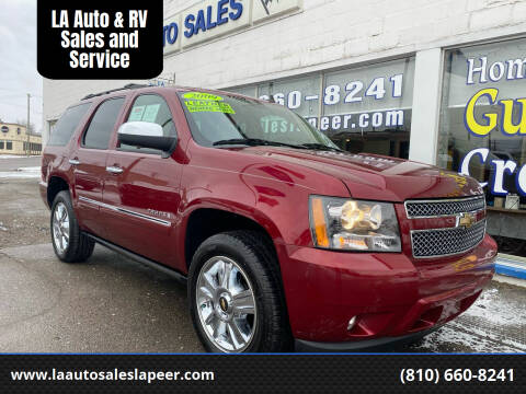 2009 Chevrolet Tahoe for sale at LA Auto & RV Sales and Service in Lapeer MI