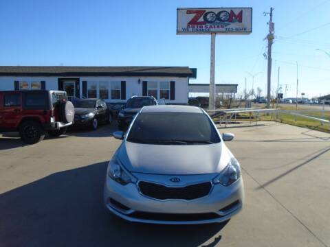 2016 Kia Forte for sale at Zoom Auto Sales in Oklahoma City OK