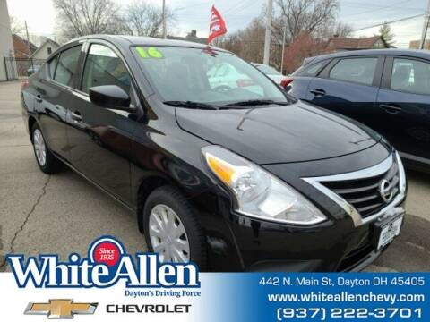2016 Nissan Versa for sale at WHITE-ALLEN CHEVROLET in Dayton OH