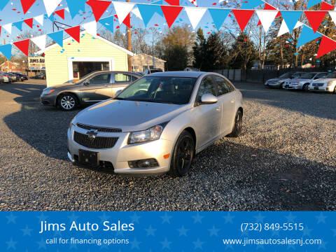 2014 Chevrolet Cruze for sale at Jims Auto Sales in Lakehurst NJ
