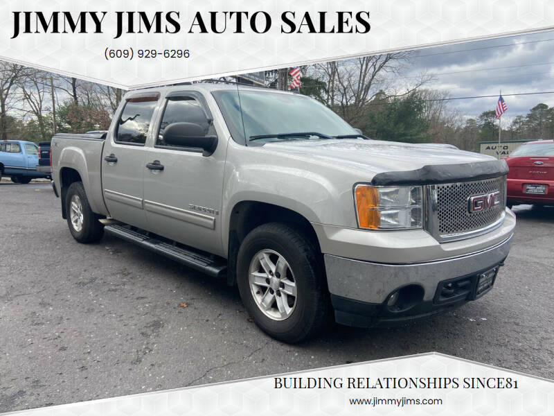 2007 GMC Sierra 1500 for sale at Jimmy Jims Auto Sales in Tabernacle NJ