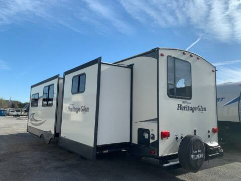 2016 Forest River Heritage Glen 300BH for sale at Ezrv Finance in Willow Park TX