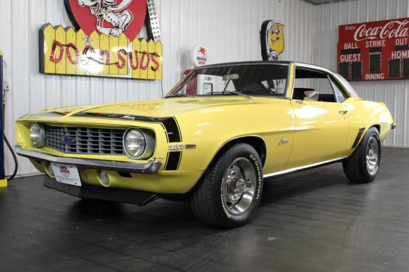 1969 Chevrolet Camaro for sale at Belmont Classic Cars in Belmont OH
