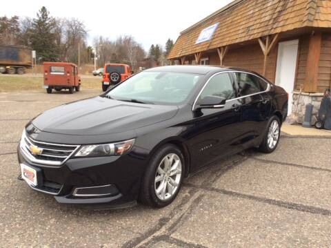 2017 Chevrolet Impala for sale at MOTORS N MORE in Brainerd MN