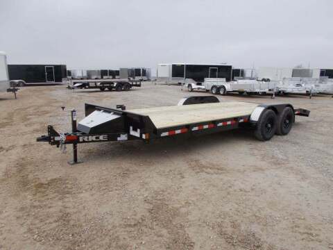 2021 Rice Trailers 9.9k Car Hauler