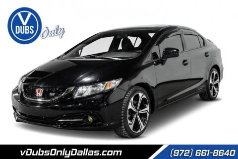 2014 Honda Civic for sale at VDUBS ONLY in Dallas TX