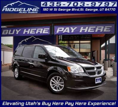 2013 Dodge Grand Caravan for sale at Ridgeline Auto Sales in Saint George UT