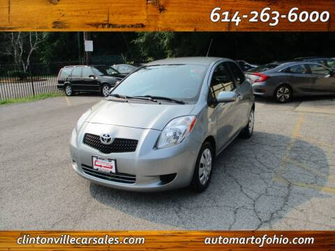 2008 Toyota Yaris for sale at Clintonville Car Sales - AutoMart of Ohio in Columbus OH