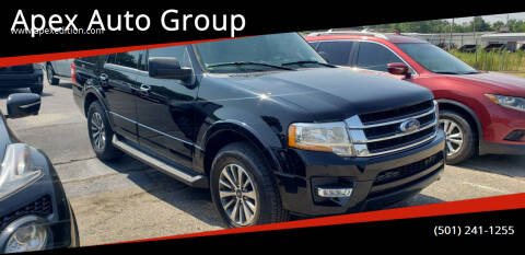 2017 Ford Expedition for sale at Apex Auto Group in Cabot AR