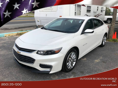 2017 Chevrolet Malibu for sale at Outdoor Recreation World Inc. in Panama City FL