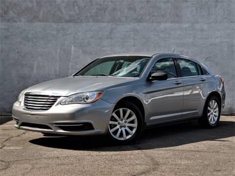 2013 Chrysler 200 for sale at Divine Motors in Las Vegas NV