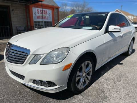 2010 Mercedes-Benz E-Class for sale at 5 STAR MOTORS 1 & 2 - 5 STAR MOTORS in Louisville KY