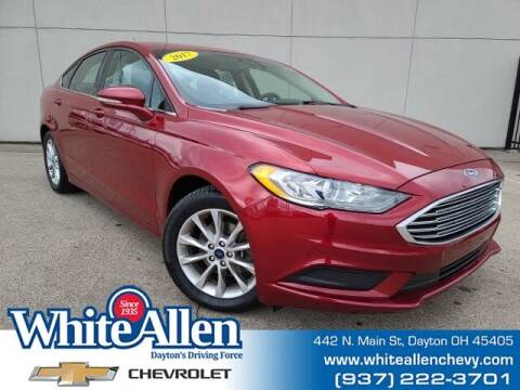 2017 Ford Fusion for sale at WHITE-ALLEN CHEVROLET in Dayton OH