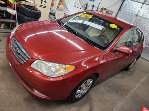 2008 Hyundai Elantra for sale at Devaney Auto Sales & Service in East Providence RI