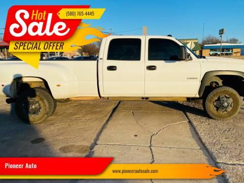 2005 Chevrolet Silverado 3500 for sale at Pioneer Auto in Ponca City OK