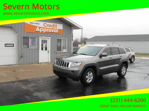 2013 Jeep Grand Cherokee for sale at Severn Motors in Cadillac MI