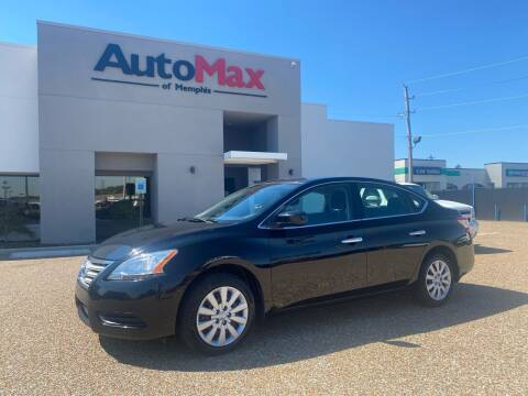 2015 Nissan Sentra for sale at AutoMax of Memphis - V Brothers in Memphis TN