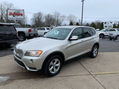 2012 BMW X3 for sale at D-Cars LLC in Zeeland MI