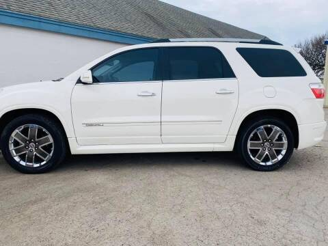2012 GMC Acadia for sale at Pioneer Auto in Ponca OK
