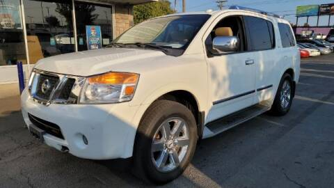 2012 Nissan Armada for sale at Tri City Auto Mart in Lexington KY