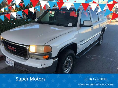 2001 GMC Yukon XL for sale at Super Motors in San Mateo CA