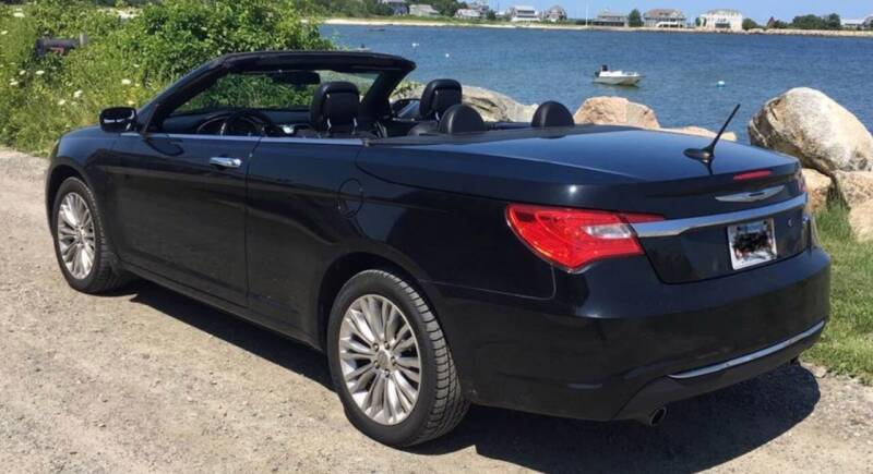 2011 Chrysler 200 Convertible for sale at BORGES AUTO CENTER, INC. in Taunton MA