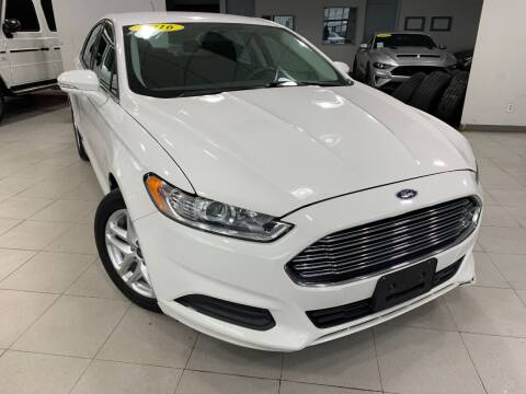 2016 Ford Fusion for sale at Auto Mall of Springfield in Springfield IL
