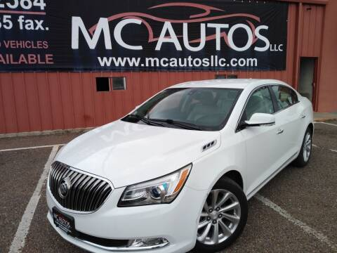 2014 Buick LaCrosse for sale at MC Autos LLC in Pharr TX