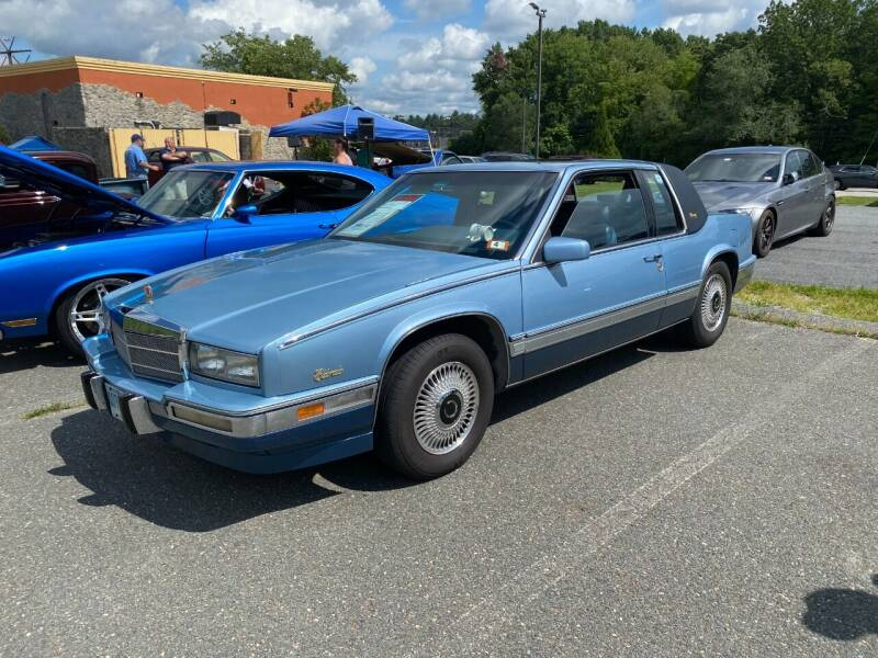 1989 Cadillac Eldorado for sale at CARuso Classic Cars in Tampa FL