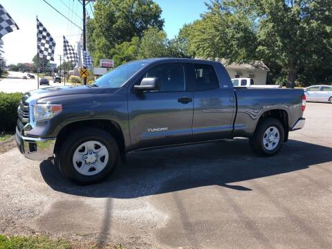 2017 Toyota Tundra for sale at Dorsey Auto Sales in Anderson SC