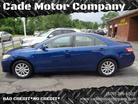 2011 Toyota Camry for sale at Cade Motor Company in Lawrence Township NJ