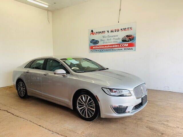 2017 Lincoln MKZ for sale in South Houston, TX