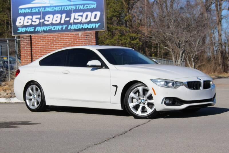 2014 BMW 4 Series for sale at Skyline Motors in Louisville TN