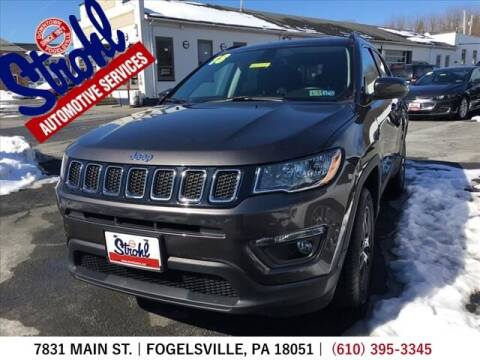 2018 Jeep Compass for sale at Strohl Automotive Services in Fogelsville PA