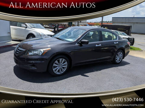 2012 Honda Accord for sale at All American Autos in Kingsport TN