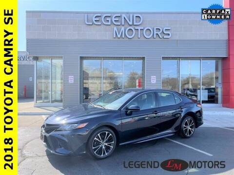 2018 Toyota Camry for sale at Legend Motors of Detroit - Legend Motors of Waterford in Waterford MI
