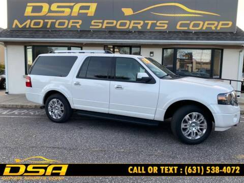 2013 Ford Expedition EL for sale at DSA Motor Sports Corp in Commack NY