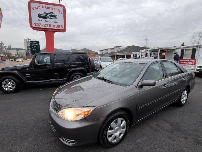 2004 Toyota Camry for sale at Ford's Auto Sales in Kingsport TN