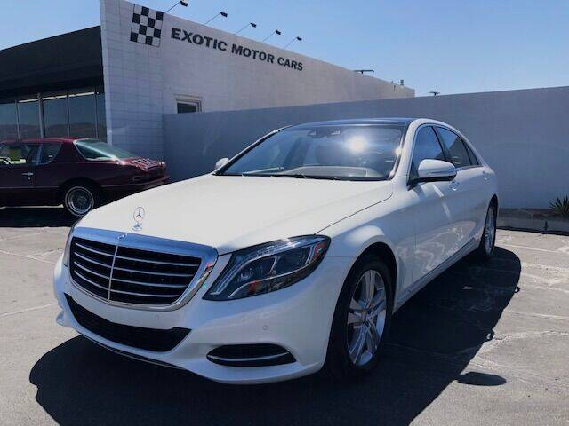 2017 Mercedes-Benz S-Class for sale in Palm Springs, CA